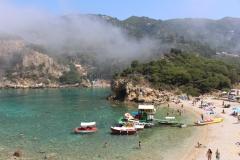 Paleokastritsas - Praia Agios Petros
