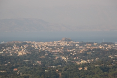 "Corfu vista do miradouro ""Trono do Kaiser"""