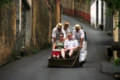 Funchal - descida de cesto