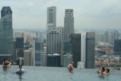 Hotel Marina Bay Sands - Infinity Pool
