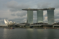 Hotel Marina Bay Sands e Science Museum