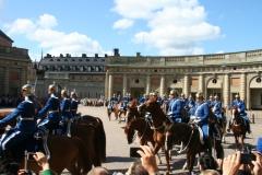 Palácio Real - Mudança da Guarda