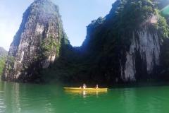 Kaiaque em Ao Ech - Lan Ha Bay